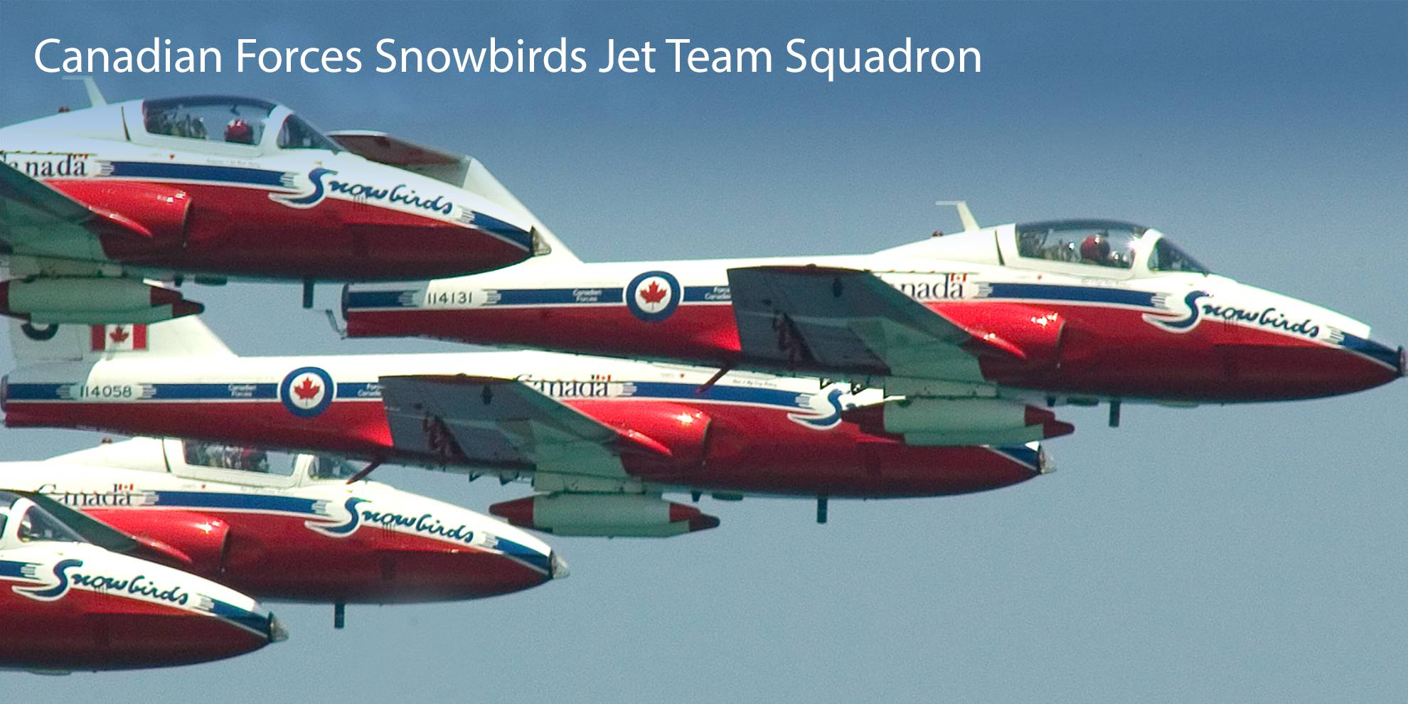 Canadian Forces Snowbirds 431 Air Demonstration Squadron
